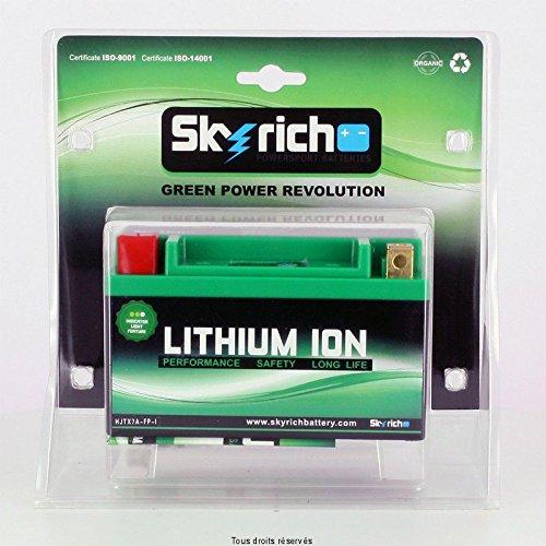 Batteria moto Skyrich agli ioni di Litio YTX7A BS / HJTX7A-FP-S Dimensioni batteria : L 150mm W 87mm H 93mm. 100% ecolo