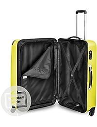 c9e1690f5 Hauptstadtkoffer - Juego de 3 maletas rígidas con ruedas en 3 tamaños o  juego junto con