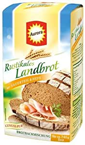 Aurora Rustikales Landbrot Bachmischung 6x500g