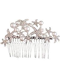 Frcolor Peigne a Cheveux - Bandeaux Nuptiale Bijoux de Mariage Accessoires