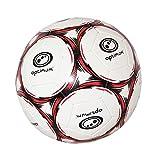 OPTIMUM Classico Balón De Fútbol En Negro/Rojo, Tamaño 3, Niños, Talla 3