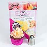 Mrs Whippy Cake Decorating Nozzle - Stainless Steel Cupcake Decoration Tool