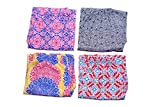 #4: jyoti Fancy Women's Cotton Printed Lower/Track Pants/Pyjama for Women(Pack of 4)
