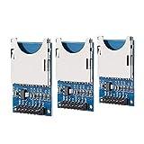 SUNFOUNDER Lot de 3 lecteurs de Cartes SD pour Arduino UNO R3 Mega 2560 Nano