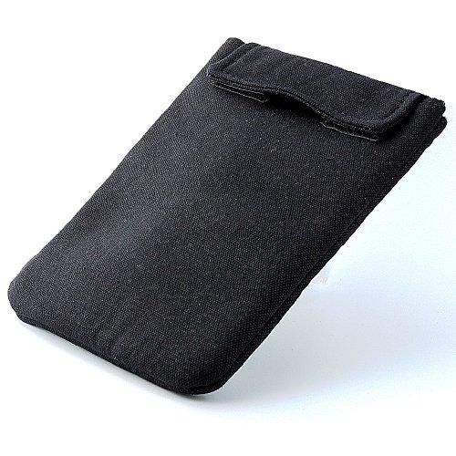 XiRRiX eBook Reader Netbook Tasche mit Klettverschluss bis 15,24cm schwarz für Blaupunkt Livro