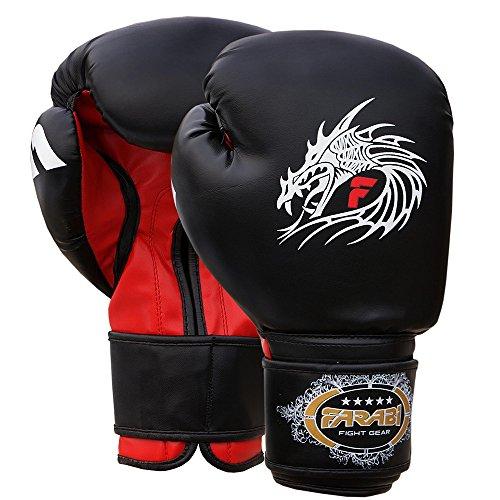 Farabi Sports Guantes de boxeo de entrenamiento 16 oz