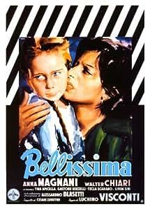 Bellissima Affiche du film Poster Movie Bellissima (27 x 40 In - 69cm x 102cm) Italian Style A