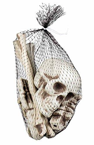 Boland 72157 Set Totenkopf und Knochen, One Size