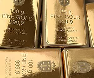 Chocolate Gold Bars x 36