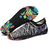 Eagsouni Unisex Strandschuhe Aquaschuhe Schwimmschuhe Barfuß Schuhe Badeschuhe Wasserschuhe Surfschuhe für Damen Herren