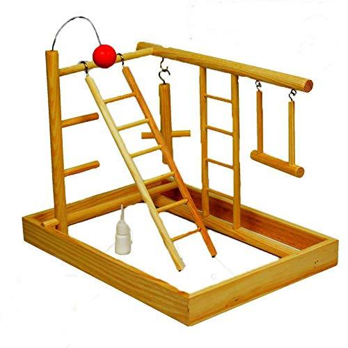 Yshen Hütten Haustier Käfige Hamster Vogel Papagei Kleines Haustier Mit Leiter Schaukel Und Klettern Kombination Set Vogel Rahmen Vogel Schaukel Spielzeug -