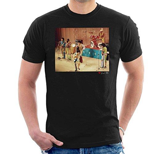 al Photography - The Jackson 5 At The Royal Variety Performance Men's T-Shirt (Michael Jackson-performance)