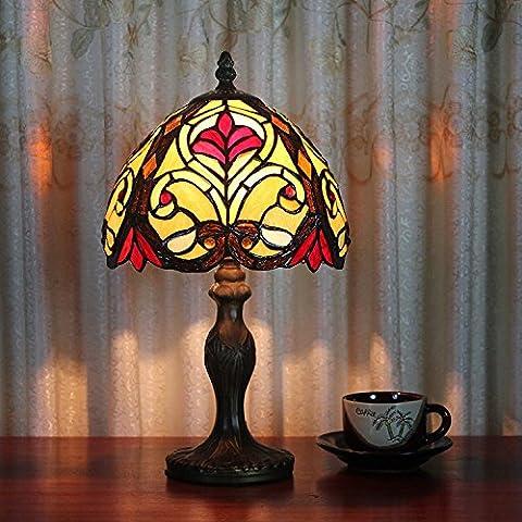 Lampe Tiffany - lampe de chevet lampe de table de