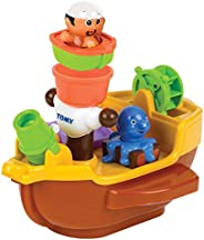 Tomy Play To Learn E71602 Pirate Ship Bath Toy Bath Toy, Multi Color