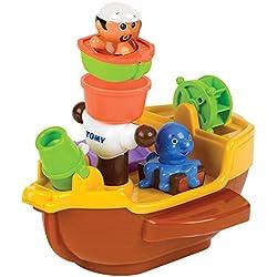 Barco pirata para el baño.