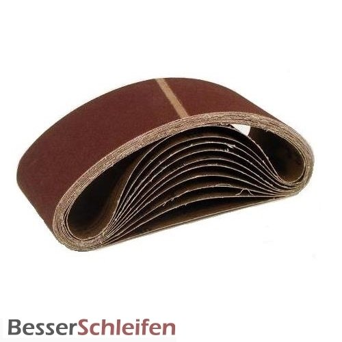 10 Gewebe Schleifb/änder 100 x 560 Korn 400