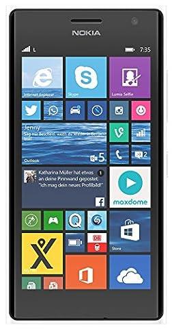 Nokia lumia 735 -8 GB, Smartphone Claro Desbloques Windows Phone (Écran 4.7, appareil photo 6.7 MP, Quad-Core 1,2 GHz, 1 Go de rAM), (Importado), blanc