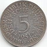 BRD (BR.Deutschland) Jägernr: 387 1971 J sehr schön Silber 1971 5 Deutsche Mark Bundesadler (Münzen für Sammler)