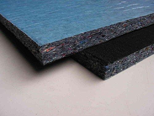 Preisvergleich Produktbild KFZ Innenraum Dämmung Dämmmatte Abdeckvlies schwarz ca.10 mm 60 x 140 cm