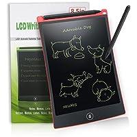 LCD Writing Tablet 8,5-Zoll Digital Schreibtafel Papierlos Grafiktablet von Newyes für Schreiben und Malen (rot)