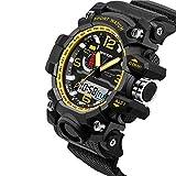 Generic SANDA 732 Fashion LED Display Men Watch 30M Waterproof Sport Digital Watch