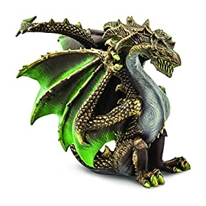 Safari 10159 Thorn Dragon - Figura Decorativa, diseño de dragón