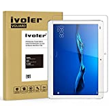 Huawei MediaPad M3 Lite 10 Protection écran, iVoler® Film Protection d'écran en Verre Trempé Glass Screen Protector Vitre Tempered pour Huawei MediaPad M3 Lite 10 - Dureté 9H, Ultra-mince 0.30 mm, 2.5D Bords Arrondis- Anti-rayure, Anti-traces de doigts,Haute-réponse, Haute transparence- Garantie de Remplacement de 18 Mois
