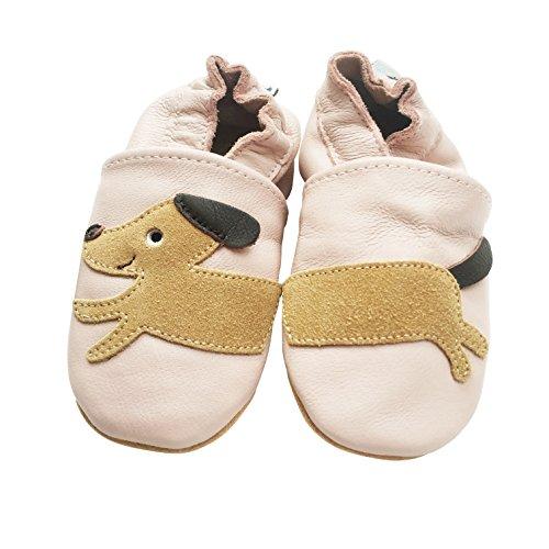 Da De muitos Modelos Anos Sapatos Couro 4 Alemanha Rastejando Piratas Anjos Couro A Marca Walker De De Velho De Rosa Bebê Puschen De Qualidade Sapatos Sapatos Cão Cor 60nwqOxv
