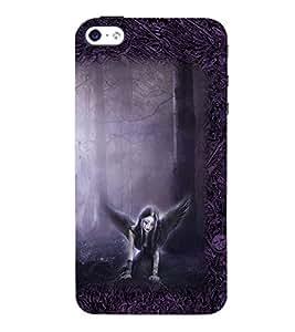 Fuson 3D Printed Girly Designer back case cover for Apple I Phone 4 / 4s - D4152