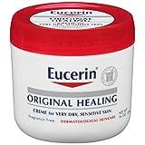 Eucerin Original Healing Soothing Repair Creme, Fragrance Free, 16 oz (454 g)