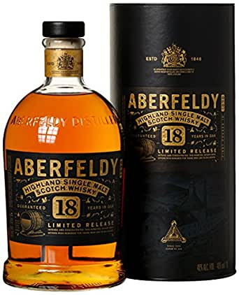 Aberfeldy 18 Years Old Limited Release mit Geschenkverpackung Whisky (1 x 1 l)