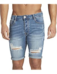 Kings Will Dream Lumor Distressed Denim Shorts 84602801ab