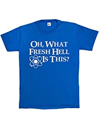 Fancy A Snuggle Oh What Fresh Hell Is This? Mens T-Shirt