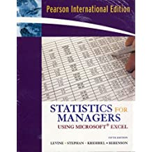 Statistics for Managers Using Excel and Student CD Package: International Edition