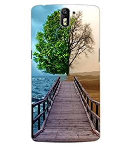 ColourCraft Creative Image Design Back Case Cover for OnePlus One