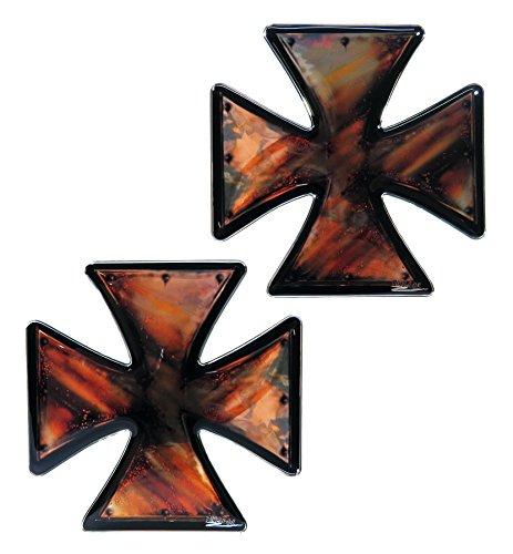 910049de VA–Juego de etiquetas 3d Iron Cross Vintage–No barato pantalla adhesivo