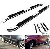 Honda CR-V 2007-12 MK3 Polished Chrome Side Step Skirt Rail Guard Protection Bar Running Board CRV