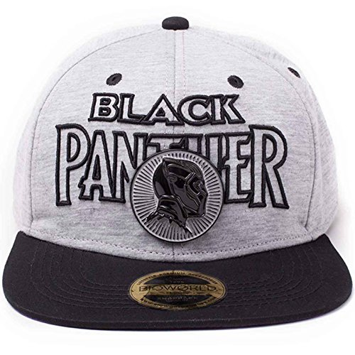 best service 3959d 1b367 Black Panther Baseball Cap Panther Metal Badge Logo Official Marvel  Snapback One Size - Buy Online in Oman.   Apparel Products in Oman - See  Prices, ...