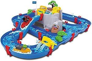 """Aquaplay 8700001542 - Waterbaanset """"Bergzee"""", 42-delig"""