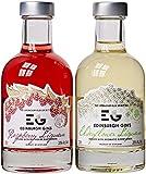Edinburgh Gin's Elderflower and Raspberry Liqueur 20 cl (Case of 2)