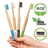 Best Cepillos de madera - DUAMY Cepillos de Dientes de Bambú Ecológicos, 100% Review