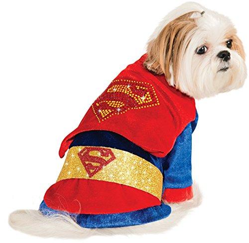 Rubies Costume DC Heroes and Villains Collection Haustier Kostüm Superman, S, - Hero Villain Kostüm