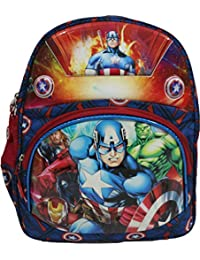Avenger Avengers Spiderman Minions Chotta Bheem Ben10 Boy s Synthetic  Waterproof School Backpack (Red) 9f7a04d37f0e3