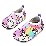 JIASUQI Baby Quick-Dry Water Shoes Lightweight Aqua Socks for Beach Pool Water Exercise