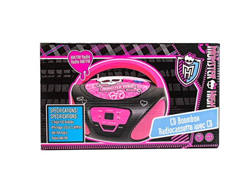 Image of Monster High Boombox Portable Stereo ( CD Player )