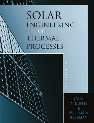 Preisvergleich Produktbild Solar Engineering of Thermal Processes