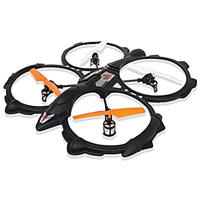 New York 40 cm 4-Channel Quadcopter with 6 Axis Gyro (Black)