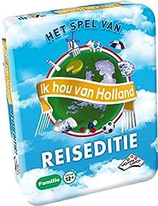 Identity Games Ik HOU Van Holland: Pocket Niños y Adultos Party Board Game - Juego de Tablero (Party Board Game, Niños y Adultos, 20 min, Niño/niña, 12 año(s), 99 año(s))