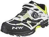 Northwave Enduro Mid Shoe white/black Size 48 2018 bike shoes