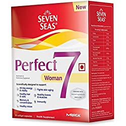 Seven Seas Perfect7 Woman - Multivitamin & Multimineral Supplement - Pack of 30